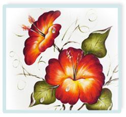 Flores Dominando Pinceladas